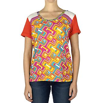 Custo Barcelona Women T-shirt Luzio Grau Multicolor
