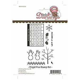 Little Darlings Stamp - Frigid Fun