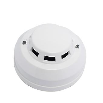 12v Dc Wired Smoke Detector Optoelectirc Sensor