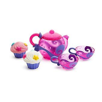 HanFei - Tee und Cupcakes Badespielzeugset, 5-teilig