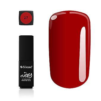 Silcare - Flexy - Hybrid gel - Farve: 27 - 4,5 gram
