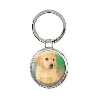 Geschenk Schlüsselanhänger: Golden Retriever Hund