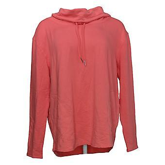 Belle por Kim Gravel Women's Sweater Reg Funnel Neck Pink A391277