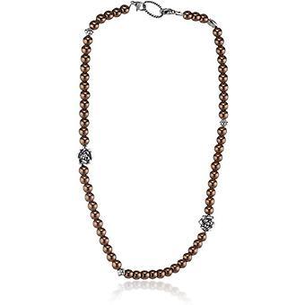 edc av Esprit EENL10244A420 - Halsband för kvinnor, rostfritt stål och glas