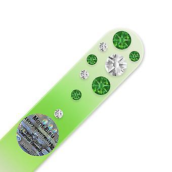 Mini crystal nail file WC-S - Fern Green - Crystal