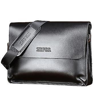 Leder Aktentasche Handtasche Business Leisure Schulter Männer Messenger Bag