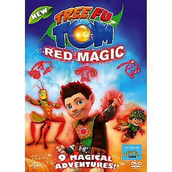 Tree Fu Tom: Red Magic DVD