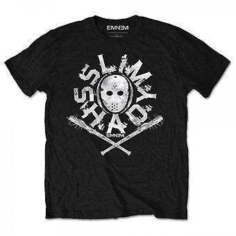 Eminem - Shady Mask Men's Large T-Shirt - Black