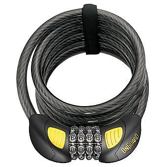 OnGuard Doberman Combo 8031GLO Cable Lock 1850 x 12mm