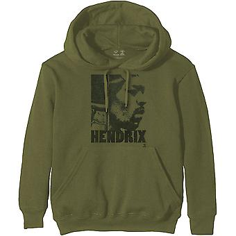 Jimi Hendrix - Let Me Live Unisex XX-Small Pullover Hoodie - Green