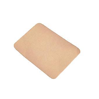Beige 76x36 pure color rectangular glue-free self-adhesive non-slip stair mat homi4091