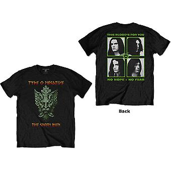 Tipo O Negativo - Green Man Unisex T-Shirt Media - Nero