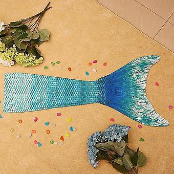 Niños de moda Niñas Mermaid Tail Swimmable Bikini Set Swimsuit Set