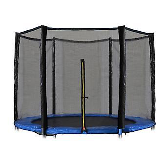 Trampolinnet 305 cm - yderkant - 6 poler - 10Ft - sikkerhedsnet