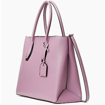 Kate Spade Eva Satchel Pink Mauve Leather Crossbody WKRU6470