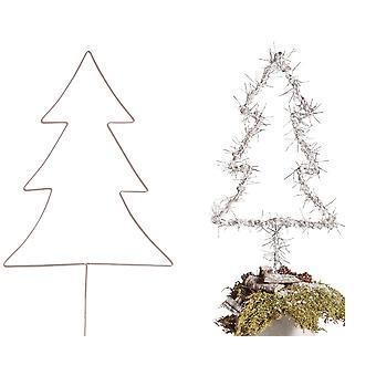 Suuri 40cm Wire joulu kuusi sisustaa-aikuisten käsi työt