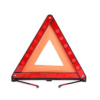 Signaling Triangles For Auto, Secure Parking Panel Triangle Warning Plate Reflective Kit Safety Auto With Motor Vehicles Red Security Triangle