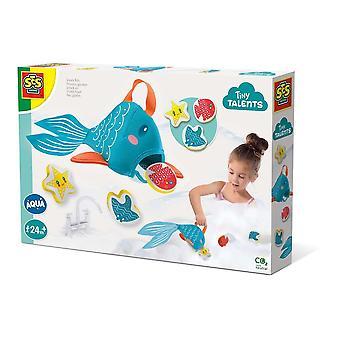 Tiny Talents Collation pour enfants Poisson Jouet de bain