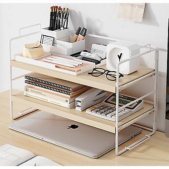 مكتب رف الكتب بسيط مكتب مجلس الوزراء ترتيب سطح المكتب وتخزين الحديد الجرف الفن