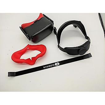 Gomrvr oculus quest halo strap rozwiązuje równowagę nacisku twarzy, wygodny regulowany ergonomiczny