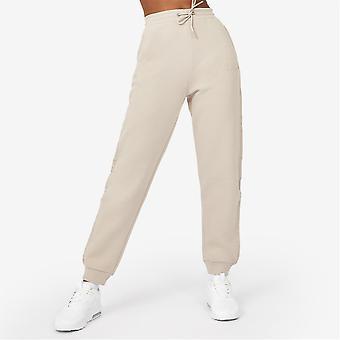 Everlast Womens tejpade joggare Sweatpants Jogging Bottoms Closed Hem Fleece