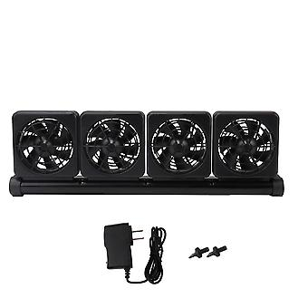 Dc 12v clip on aquarium chillers cooling fan with 4 adjustable fan