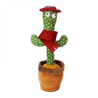 Dancing Cactus, Talking Cactus Toy Repeats What You Say