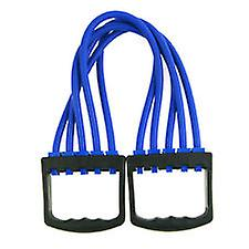 Kabalo 5-Spring Rubber Chest Expander Pull Stretcher Home Gym Muscle Training Exerciser