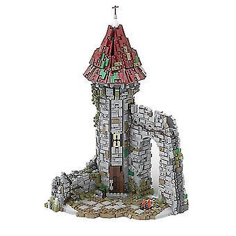 Venalisa Creative City Medieval Wizard Model Home Decoration Kids Brain Game Diy Toys Najlepszy prezent bloki