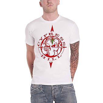 Cypress Hill T Shirt Skull Compass Band Logo new Official Mens