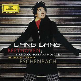 Lang Lang - Beethoven: Piano Concertos Nos. 1 & 4 [CD] USA import