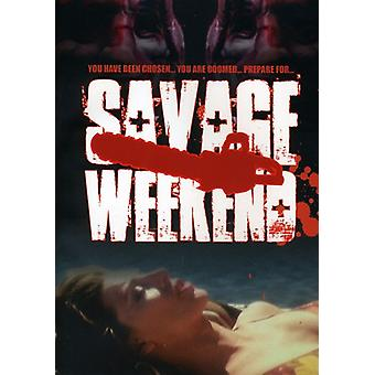 Savage Weekend [DVD] USA import