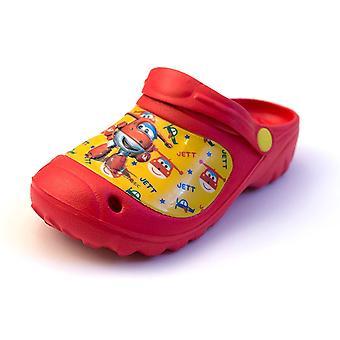 Super Wings QE4903 Boys Summer Beach Sandals / Clogs