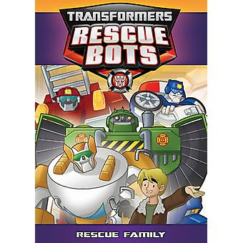 Transformers Rescue Bots: Rescue Family [DVD] USA import