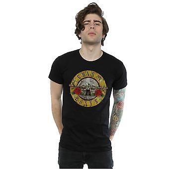 Guns bala Vintage logotipo t-shirt N Roses masculino
