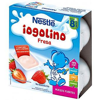 Nestlé Iogolino Strawberry + 8 months 4x100 g (Childhood , Food , Desserts And Snacks)