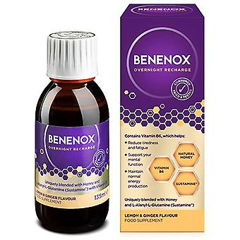 Natures Aid Benenox Overnight Recharge Lemon & Ginger Flavour 135ml
