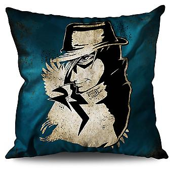 Anime Cool Japan Linen Cushion 30cm x 30cm | Wellcoda