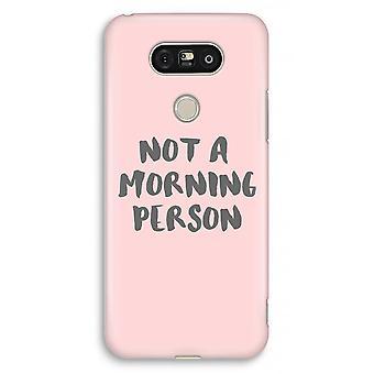 LG G5 volledige Case - ochtend persoon afdrukken