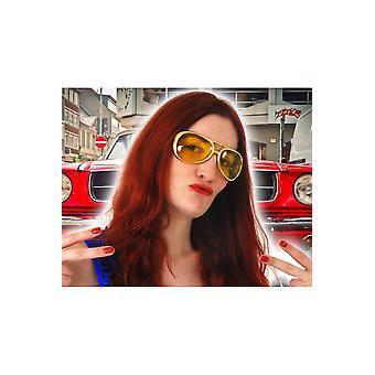 Elvis de óculos / óculos de disco