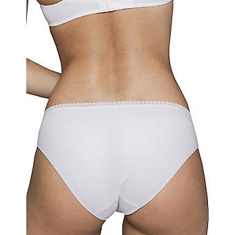 Maison Lejaby 17463-03 Women's Cottone-Moi White Cotton Briefs Knickers Bikini
