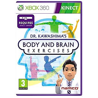 Dr Kawashimas Gehirn- und Körperübungen für Kinect (Xbox 360) - Factory Sealed