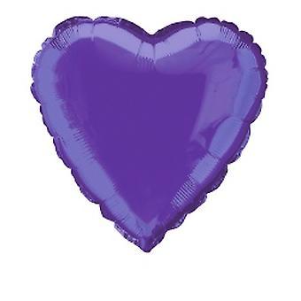 Folie ballon hart solide metalen Deep Purple