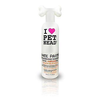 Tête de l'animal de compagnie blanc parti éclaircissant 354ml chien shampooing