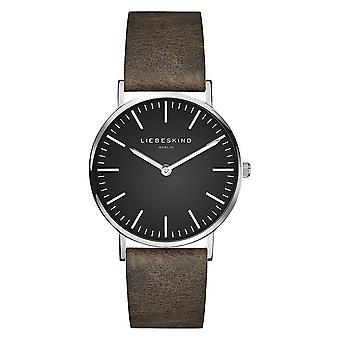 LIEBESKIND BERLIN ladies watch wristwatch leather LT-0093-LQ