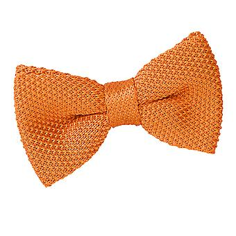 Tangerine Knit Knitted Pre-Tied Bow Tie