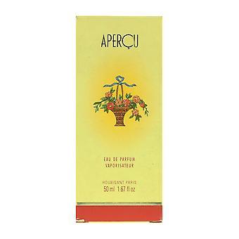 Houbigant Apercu Eau De Parfum Spray 1.67Oz/50ml New In Box