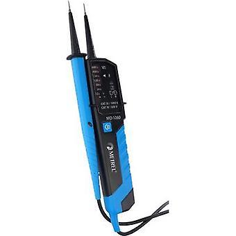 Metrel MD 1060 2-polige spanningstester CAT III 1000 V, CAT IV 600 V LED, akoestisch