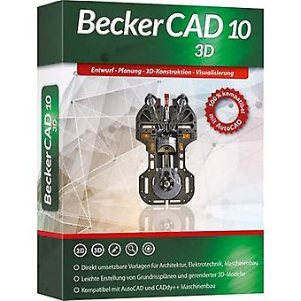 Markt/Teachers & Technik Becker CAD 10 3D täysversio 1 lisenssi Windows CAD