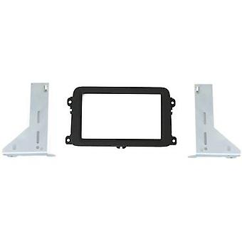 AIV Car stereo double DIN faceplate Volkswagen Golf V, Volkswagen Golf Plus, Volkswagen Passat, Volkswagen Polo, Volkswagen Tiguan, Volkswagen Touran